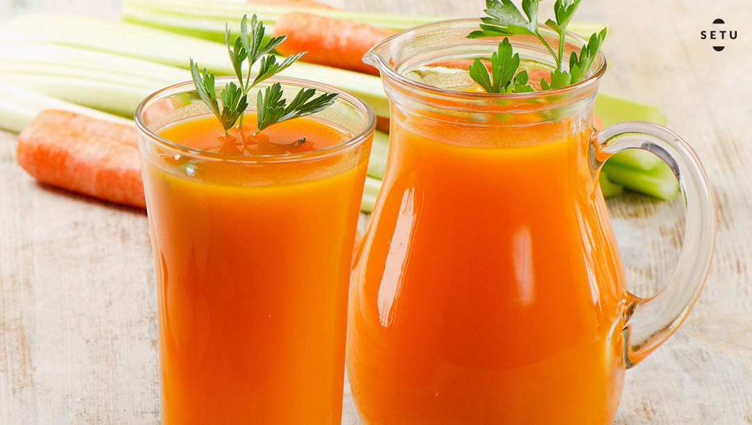 Carrot & Celery Cleanse Juice
