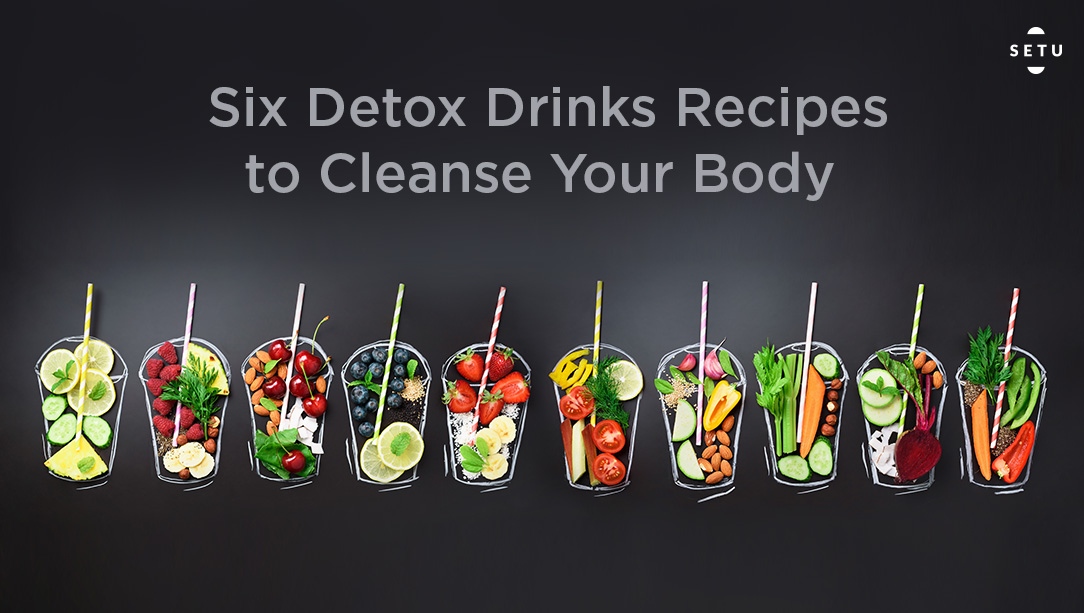 6 Detox Drink that will Change Your Life!