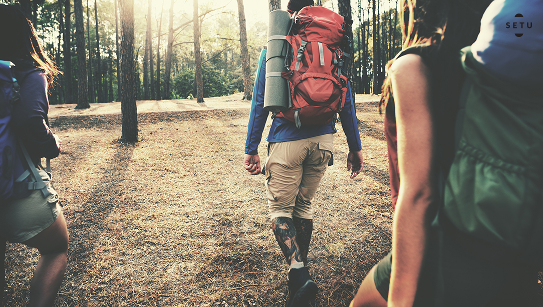 Fitness destination vacation for a healthy adventure