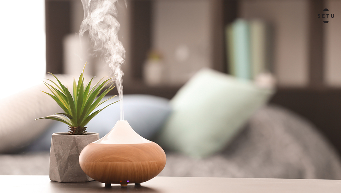 Aroma oil diffusers to lighten up the mood