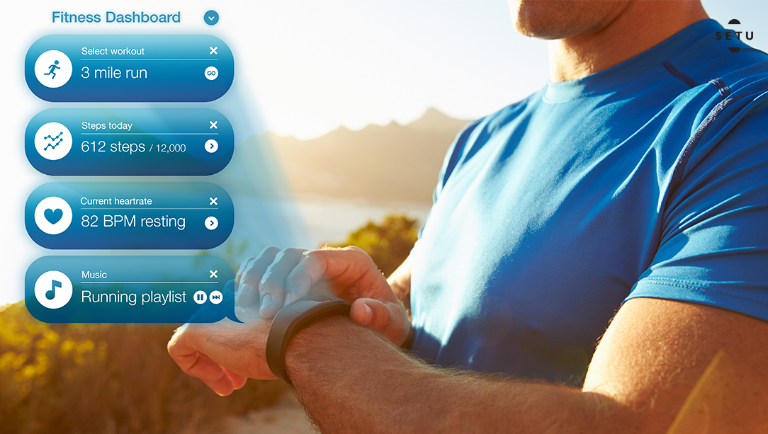 Monitoring health with a fitness tracker