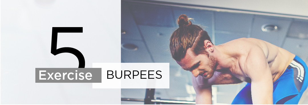 Exercise 5: Burpees (Cardio/Full Body)